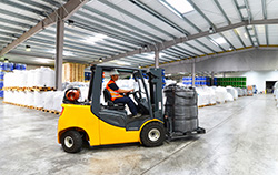 looking for a forklift operator job